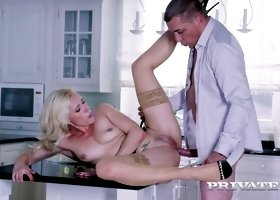 Nothing makes Brittany Bardot feel happier than a nice dick up her twat
