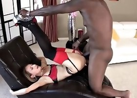 Lexington Steele sticks his huge black dick inside Natasha Starr