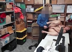 Busty Teen Shoplifter Hard Fucked By A Security Guard