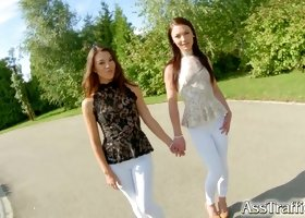 AssTraffic Beautiful French babes Angelik Duval and Tiffany Doll star in this anal extravaganza full of ass to mouth and gaping assholes.