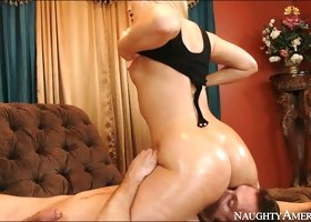 Wonderful 69 pose fuck with gorgeous babe AJ Applegate and guy Bill Bailey