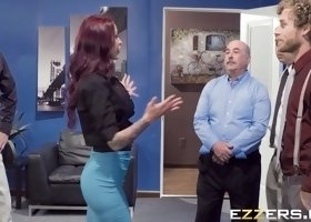 Monique Alexander In Team Building Sexcercise