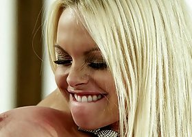 Lusty Jesse Jane massages him and gets fucked lustily