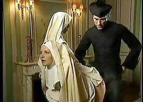 Slutty Nuns & Lustful Priest!