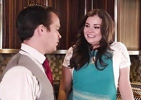 Allie Haze hot anal sex with neighbor