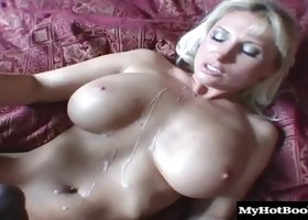 Busty Devon Lee is absolutely ready for her lover's huge black dick