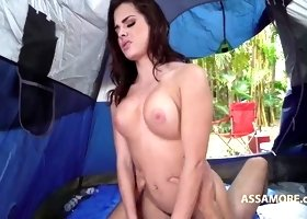 Keisha Grey Camping and Fucking