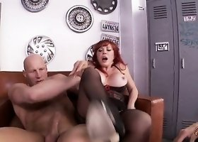They relish their share of riding that shaft before taking his cum in their mouths
