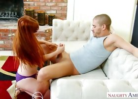 Penny Pax is a true cock worshiper and she knows how to give a titjob