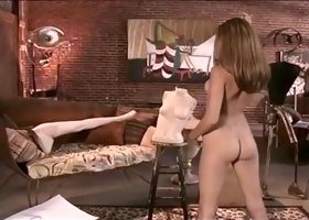 Two Horny Babes in Girl on Girl Action
