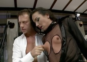 Even though Rocco Siffredi is old, girls just can't get enough of his dick