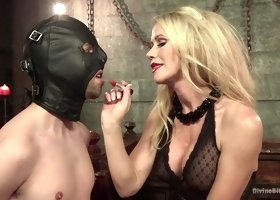 Pleasing Simone Sonay in best ever femdom performance