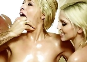Zoey Monroe, Christie Stevens Threesome Action