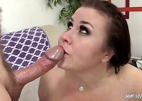 Double cock penetration specially for extremely fat slut Lady Lynn
