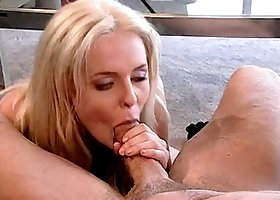 Melissa Walker has anal sex with Peter North and gets cum on her face