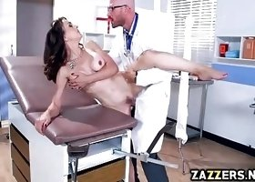 Dr Johnny Sins banging Cytherea on top of his big cock